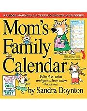 Mom's Family Wall Calendar 2021