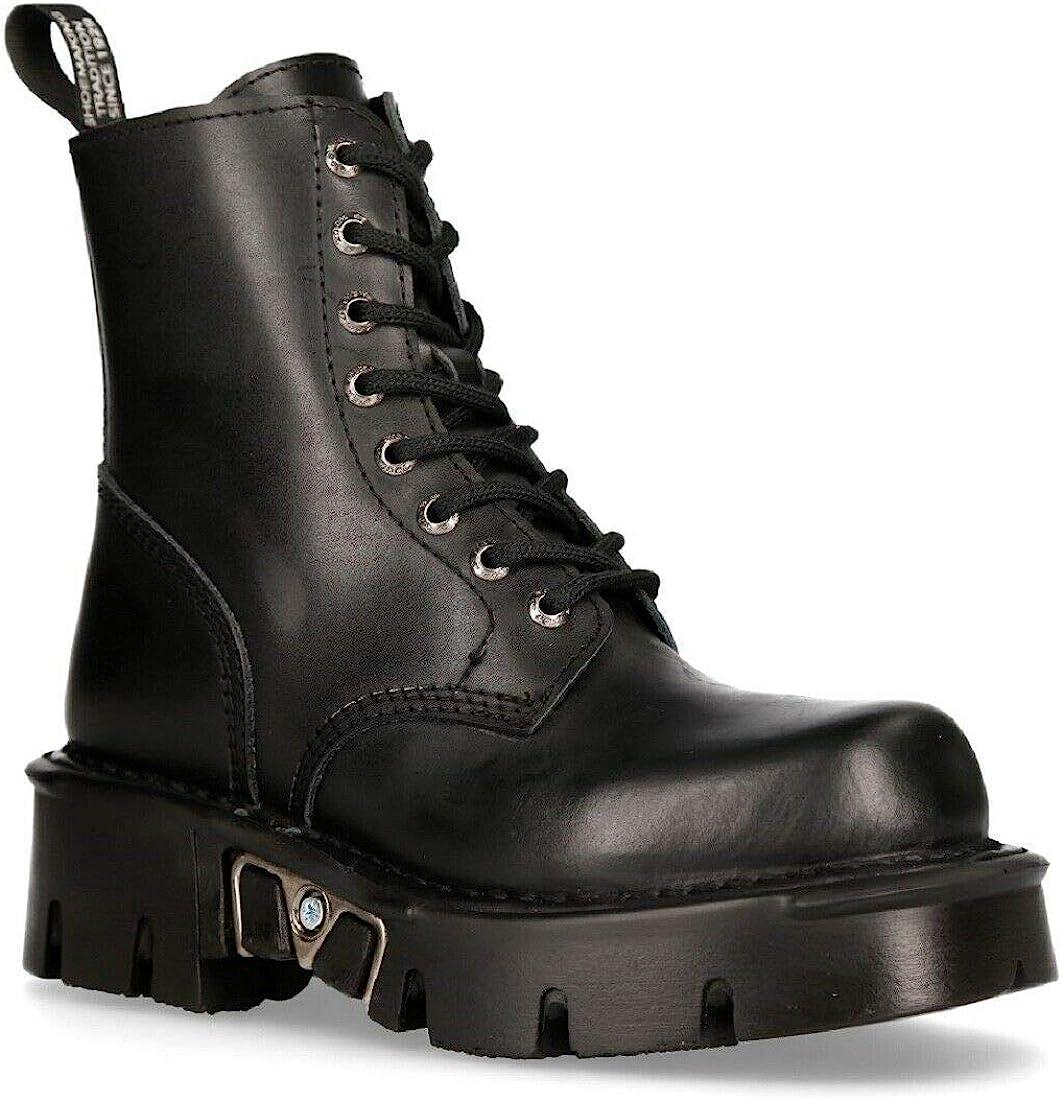 Amazon.com: New Rock Mili-084N-S3 Black