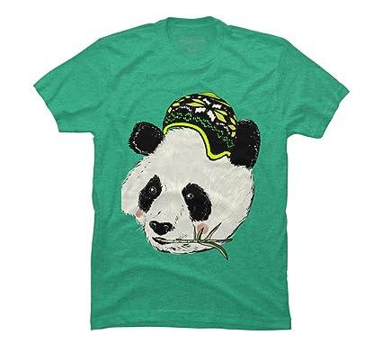 14a862cb8e37 Amazon.com: Cool Panda Men's Graphic T Shirt - Design By Humans: Clothing