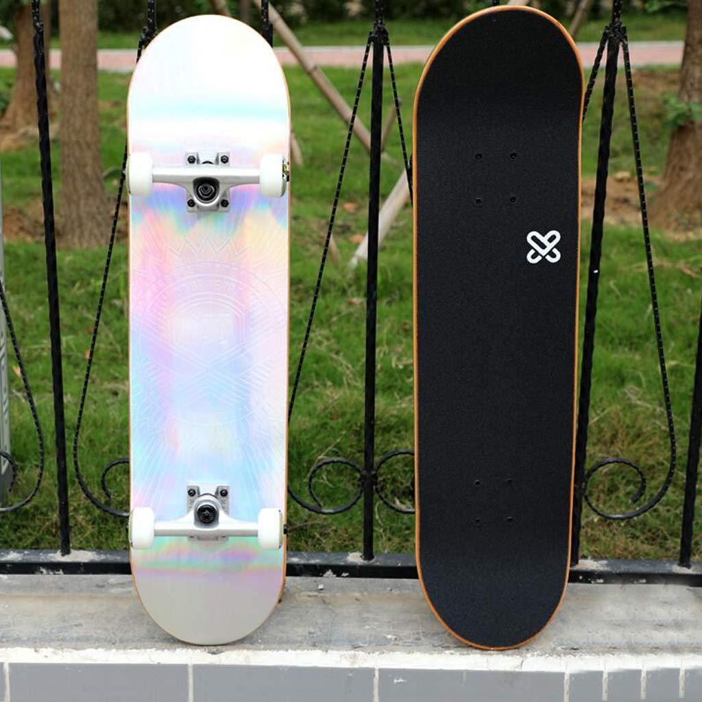 KTYXDE スケートボードのロングボードのサイズは80×20cm (Color : A) A