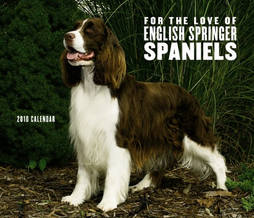 English Springer Spaniels, For the Love of 2010 Deluxe Wall (Multilingual Edition)