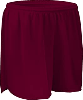 "product image for Game Gear PT403W 4"" Performance Athletic Solid Sport Running Short with Inner Brief (X-Large, Maroon)"