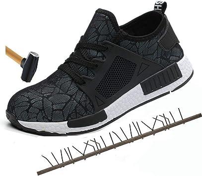 Unisex Steel Toe Work Shoes Anti