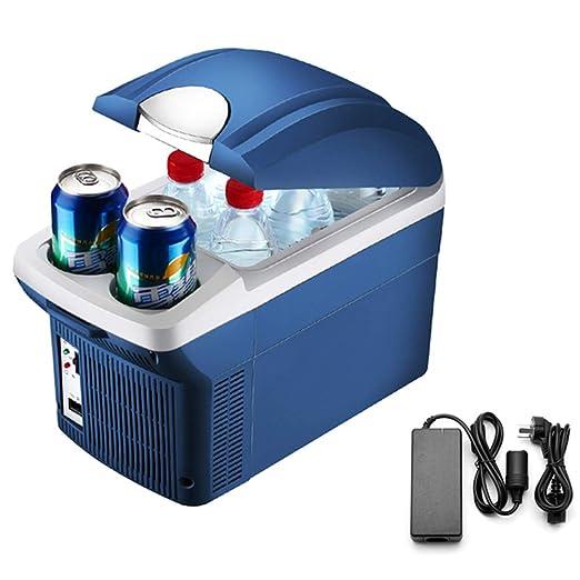 LXMBox Refrigerador pequeño para automóvil/Doble núcleo/Congelador ...