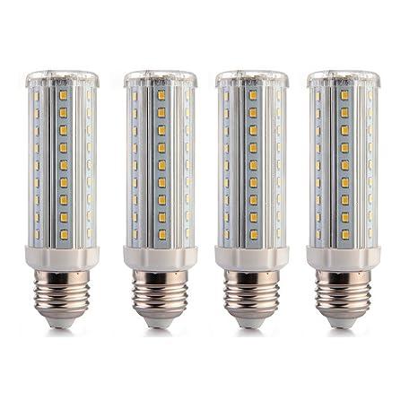 E27 9 W Bombilla LED Equivalente a 60 - 100 W blanco cálido ...