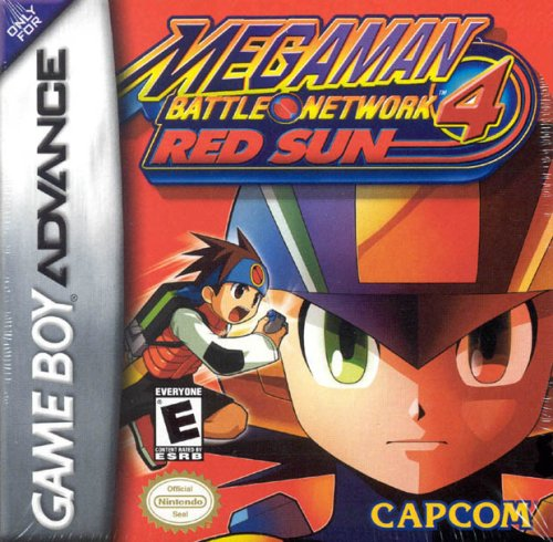 MegaMan Battle Network 4: Red Sun (Man Mega 6 Network Battle)