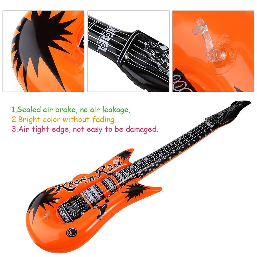BESTOYARD 12pcs Globo de la Hoja de la Guitarra Instrumentos de Rock ...