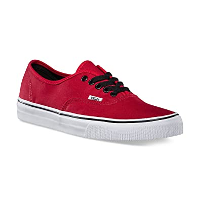 a332a76c6f5 Vans Authentic Red Chili Pepper Shoes Women s Fashion Skate Sneakers  0NJV2KA (3.5 Men  5
