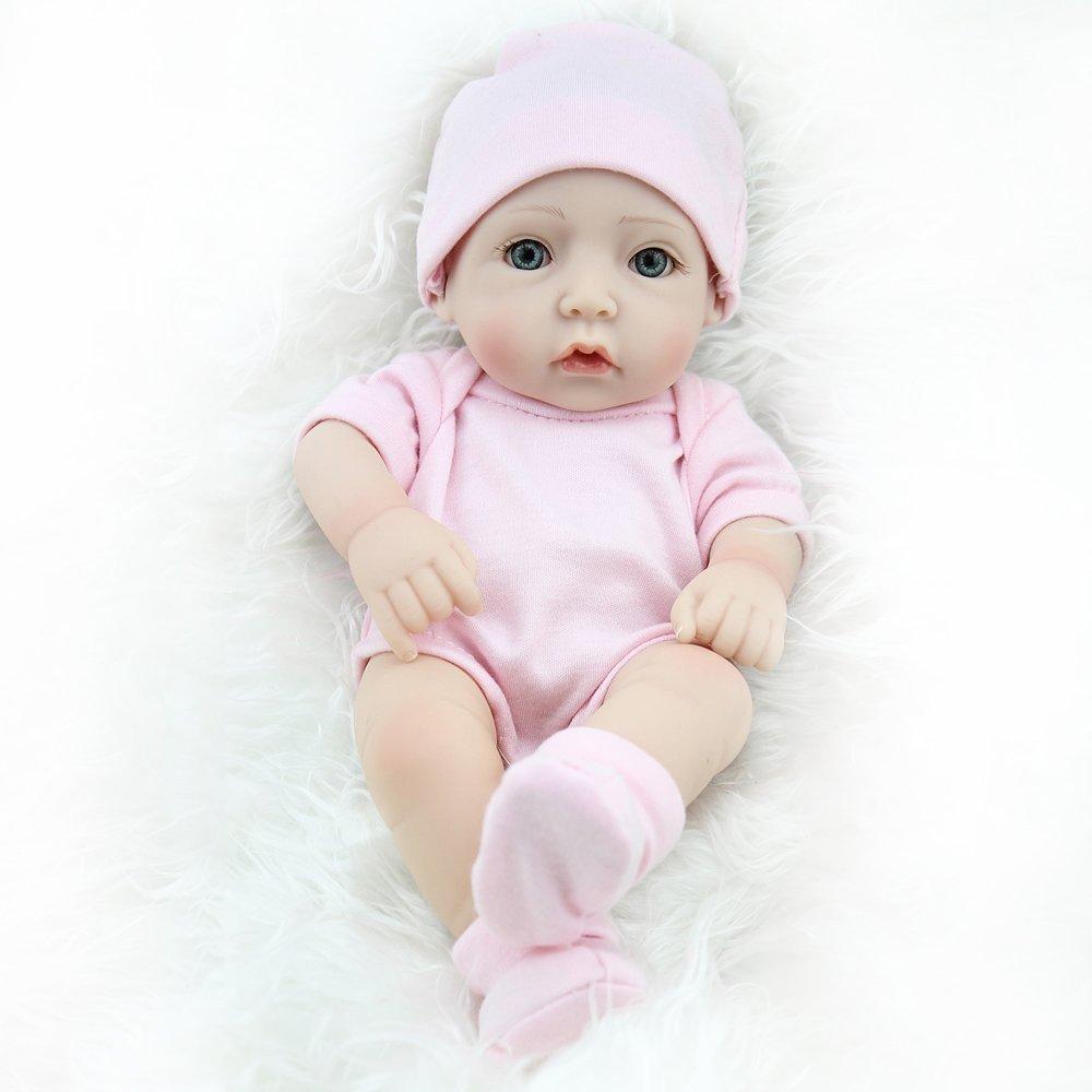 Reborn Dolls, 10' Sleeping Full Vinyl Real Looking Girl Mini Reborn baby Realistic Baby Dolls 10 Sleeping Full Vinyl Real Looking Girl Mini Reborn baby Realistic Baby Dolls Reborn Babies