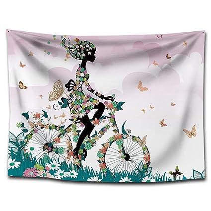 Axiba Tapices,Impresión Tapiz Yoga Colgante Tela Tapiz Toalla de Playa casa Colgante Pintura Decorativa