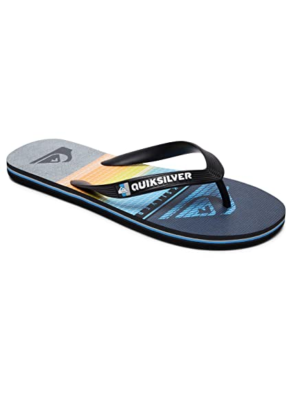 Java Wordmark, Tongs Homme, Multicolore (Black/Blue/Black), 42 EUQuiksilver