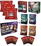 Magic the Gathering: MTG Ultimate Christmas Gift Set (4 2017 Commander Decks, Merfolk Vs Goblins Duel Decks, Explorers of Ixalan Deck Collection, 3 Unstable Draft Packs, 2017 Gift Box, 10 HOD Booster)