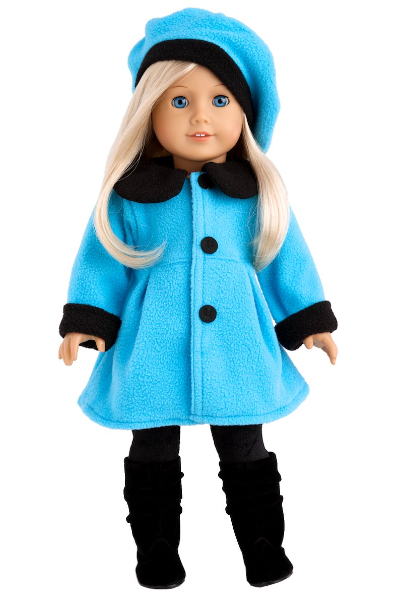 winter doll coat