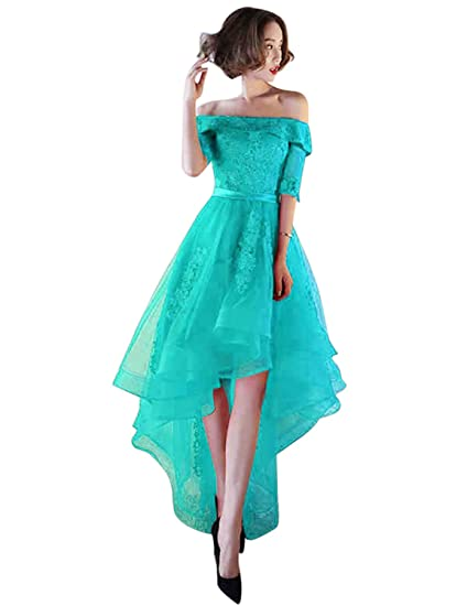Review Vimans Womens Tulle High Low Homecoming Dresses 2018 Formal Prom Gown D707