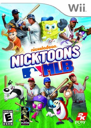 Nicktoons MLB - Nintendo Wii (South Park Wii Game)