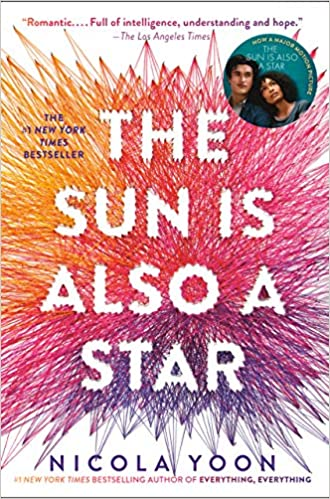 Image result for the sun is also a star book cover and movie poster