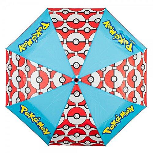 Pokemon Pokeball Panel Umbrella Photo