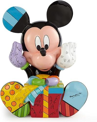 Enesco Disney by Britto Mickey Birthday Figurine, 7.25-Inch