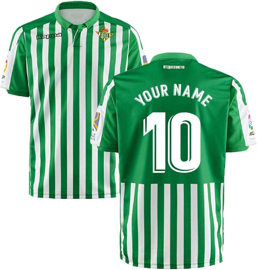 UKSoccershop 2019-2020 Real Betis Kappa - Camiseta de fútbol para el hogar, Large Adults, Blanco: Amazon.es: Deportes y aire libre