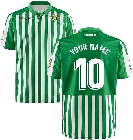 UKSoccershop 2019-2020 Real Betis Kappa - Camiseta de fútbol ...