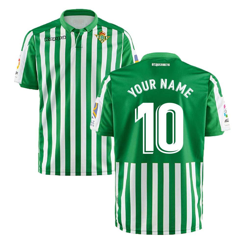 UKSoccershop 2019-2020 Real Betis Kappa - Camiseta de fútbol para ...