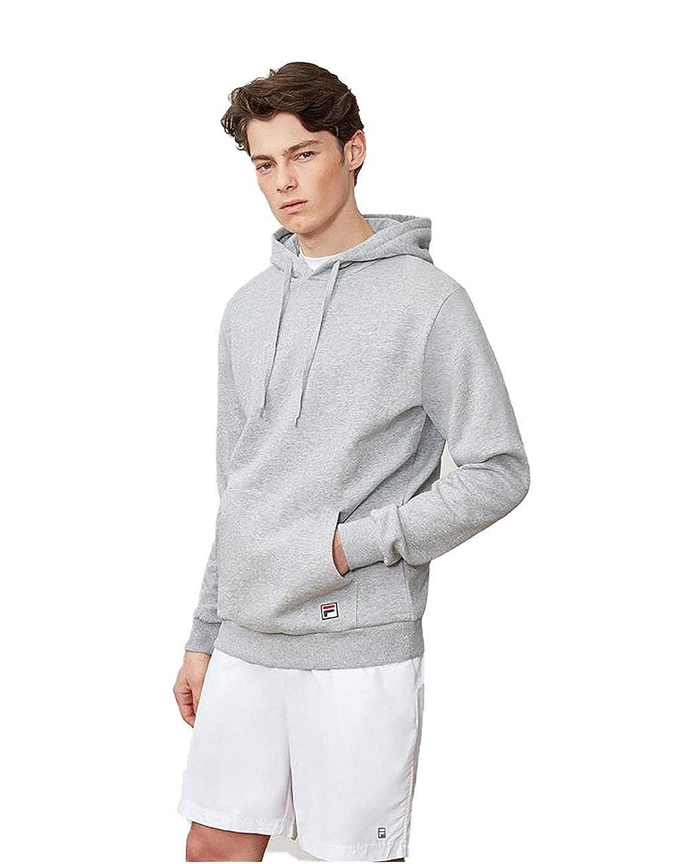 gris S Fila Core Sweat à capuche pour homme