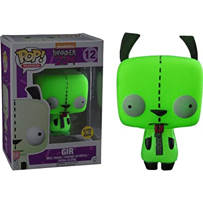 Funko Pop! TV #12 Invader Zim Glow in The Dark Gir (Hot Topic Exclusive): Toys & Games
