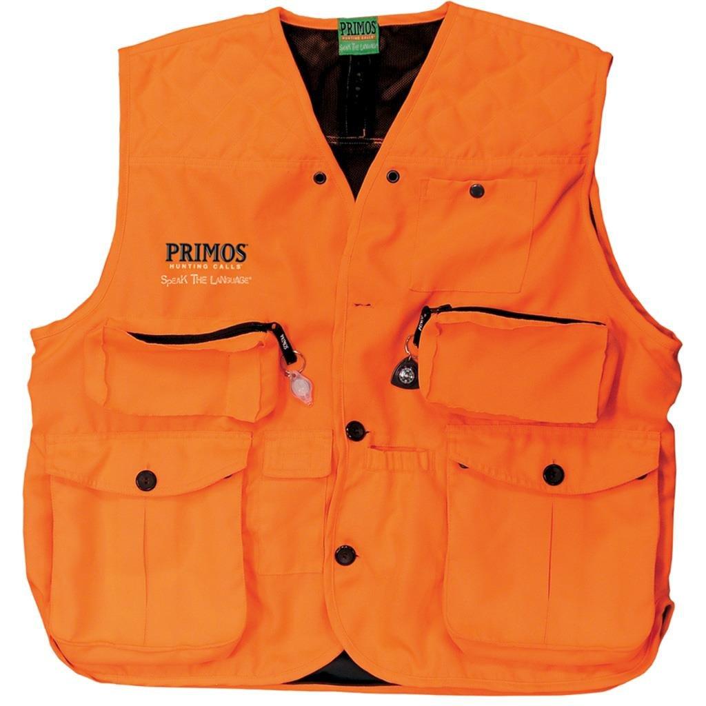 Primos Gunhunter's Vest (Blaze Orange, Medium) by Primos Hunting