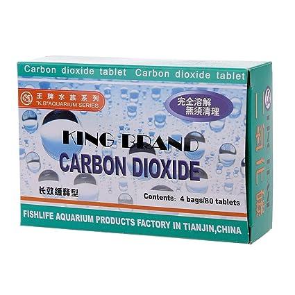 wentingZWT_Aquarium CO2 Tableta Dióxido de Carbono para Plantas pecera Difusor de Hierbas acuáticas
