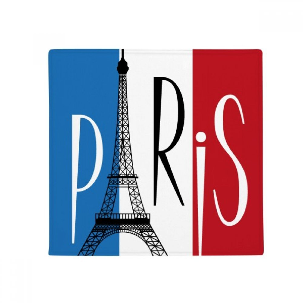 DIYthinker National Flag France Eiffel Tower Paris Anti-Slip Floor Pet Mat Square Home Kitchen Door 80Cm Gift