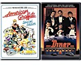 American Diner DVD ACADEMY AWARD movie Set Double Feature 50's American Graffiti
