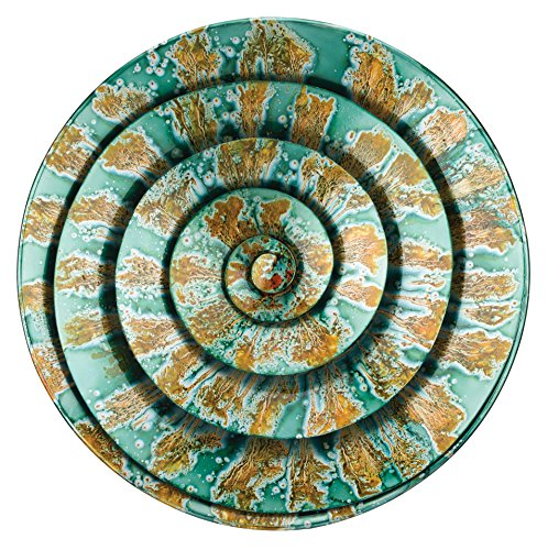Regal Art & Gift Spiral Wall Decor, Teal