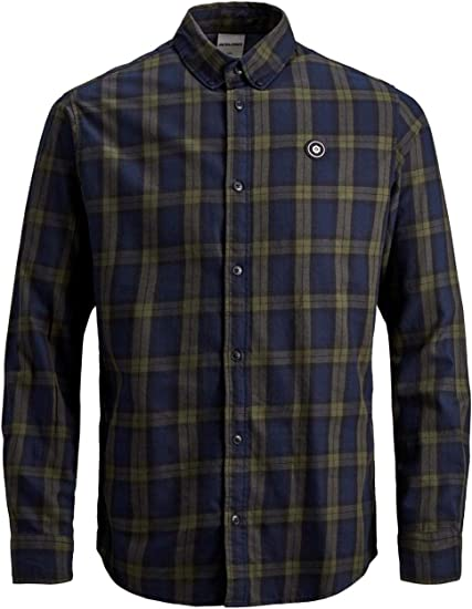 Jack & Jones jcoMahone Plain - Camisa para hombre: Amazon.es: Ropa y accesorios