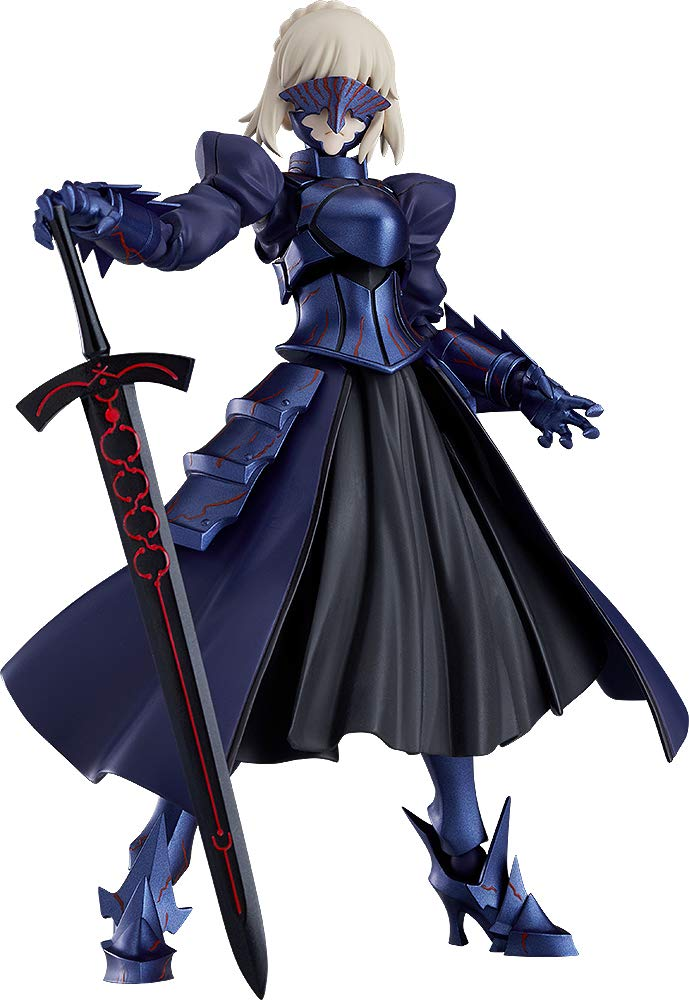 figma Fate/stay night [Heaven's Feel] セイバーオルタ 2.0 ノンスケール ABS&PVC製 塗装済み可動フィギュア