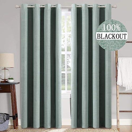 MIULEE Linen Texture Curtains