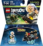 Back To The Future Marty McFly Level Pack + Doc Brown Fun Pack + The Lord Of The Rings Legolas + Gimli + Gollum Fun Packs - Lego Dimensions (Non Machine Specific)