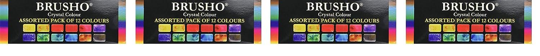非売品 Colourcraft 4-Pack 2-Pack Brusho 12色 クリスタルカラーセット 2-Pack Brusho BRU85000 B07MG5F9HV 4-Pack 4-Pack, 南小国町:3f0cf8f7 --- itourtk.ru