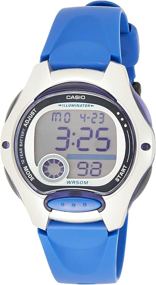 Casio Reloj Digital para Mujer de Cuarzo con Correa en Resina LW ...