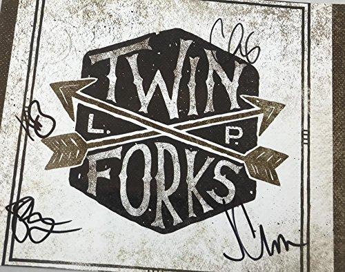 Twin Forks Signed 11X14 Photo Chris Carrabba Kelsie Barron Clark Zoen  1 Coa K3
