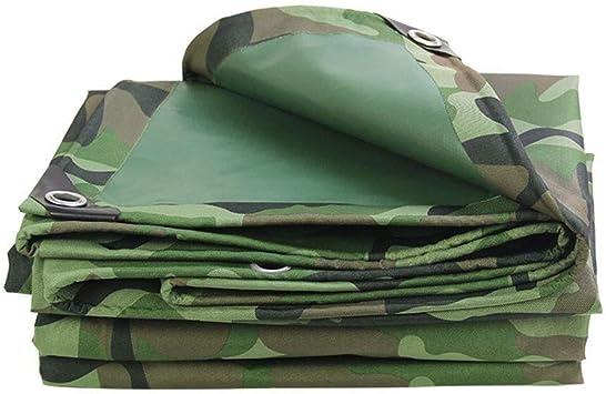 MSF Lonas Camuflar a prueba de agua |Condimento pesada |Cubierta de tierra remolque tienda |Gran Carpa |De gran tamaño de toldos de diversos tamaños (Size : 6m×8m): Amazon.es: Bricolaje y herramientas