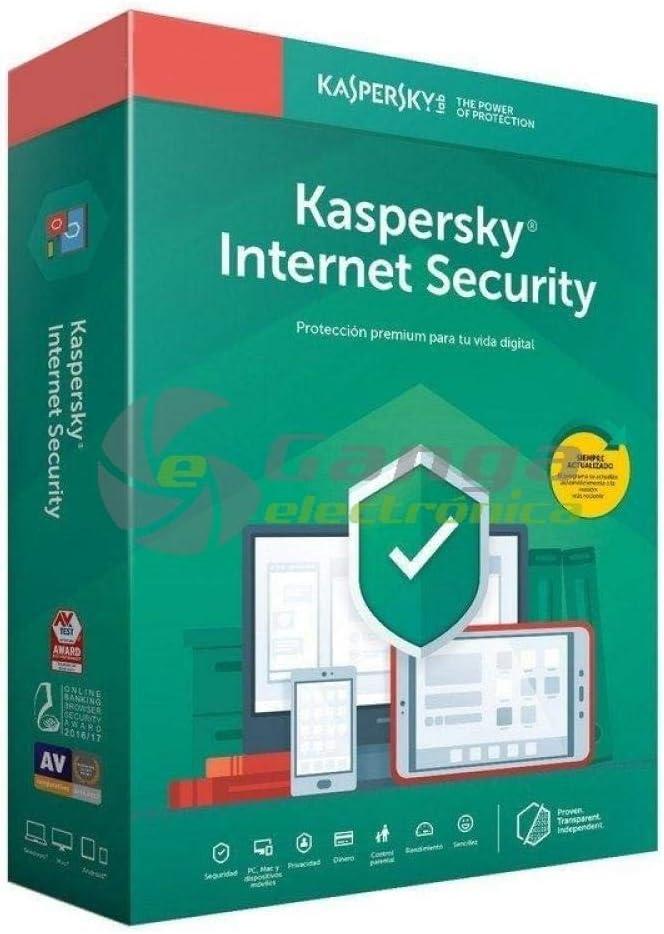 Kaspersky Kis 2020 Internet Security - Antivirus, 5 Licencias, 1 Año