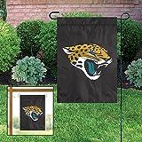 Jacksonville Jaguars GARDEN Window Flag Banner Applique Embroidered Football