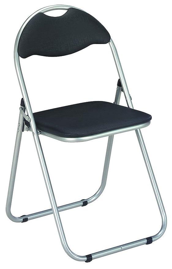 Haku Möbel Lot de 6 chaises pliantes, Metal, Verde, 44x47x80