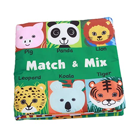 Amazon Com Dolland Baby Toy Lovely Animal Face Pairing Puzzle