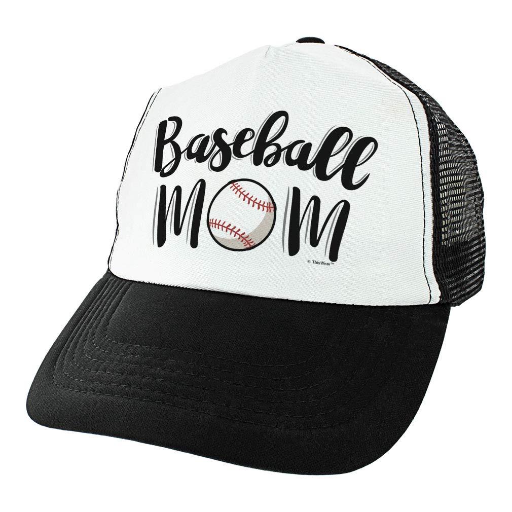 849133388 Amazon.com: ThisWear Baseball Gifts for Women Baseball Mom Hat ...