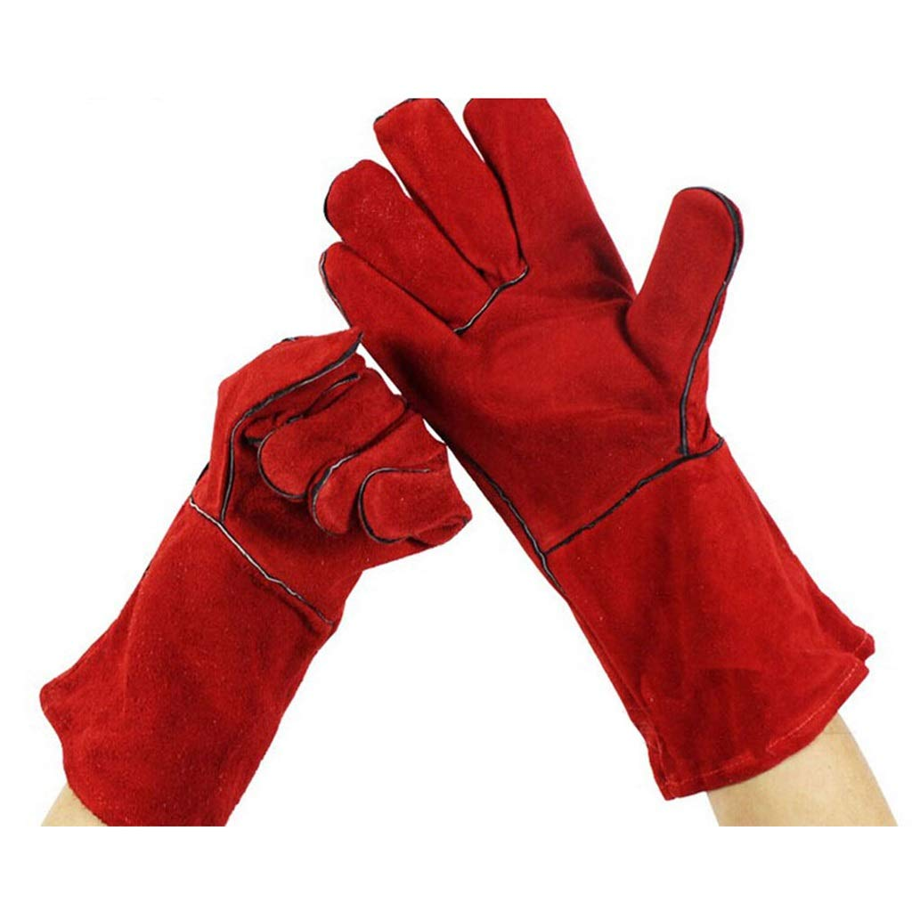 YSNBM Gauntlets Heavy Duty Welding Gloves & Heat Resistant Gloves for Men & Women Frozen Cold Storage Gloves,Used for Fireplace Oven Industrial Gloves Gas Station,Dry Ice,Cold Storage,Industrial glov