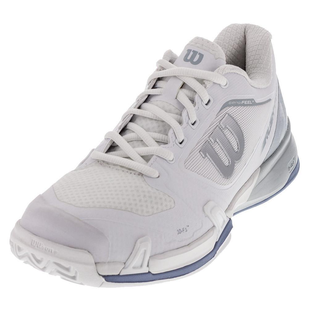 Wilson Rush Pro 2.5 Womens B(M) Tennis Shoe B01K5IRJ50 6.5 B(M) Womens US|White/Peral Blue/Stonewash 174c96