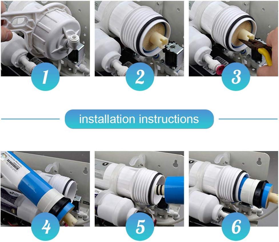 zerodis membrana de ósmosis inversa filtro Elemento FILTRANTE Agua ...