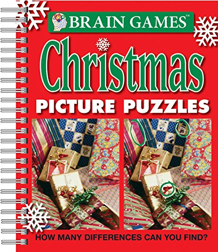 Brain Games® Christmas Picture Puzzles (Find Picture Puzzle)