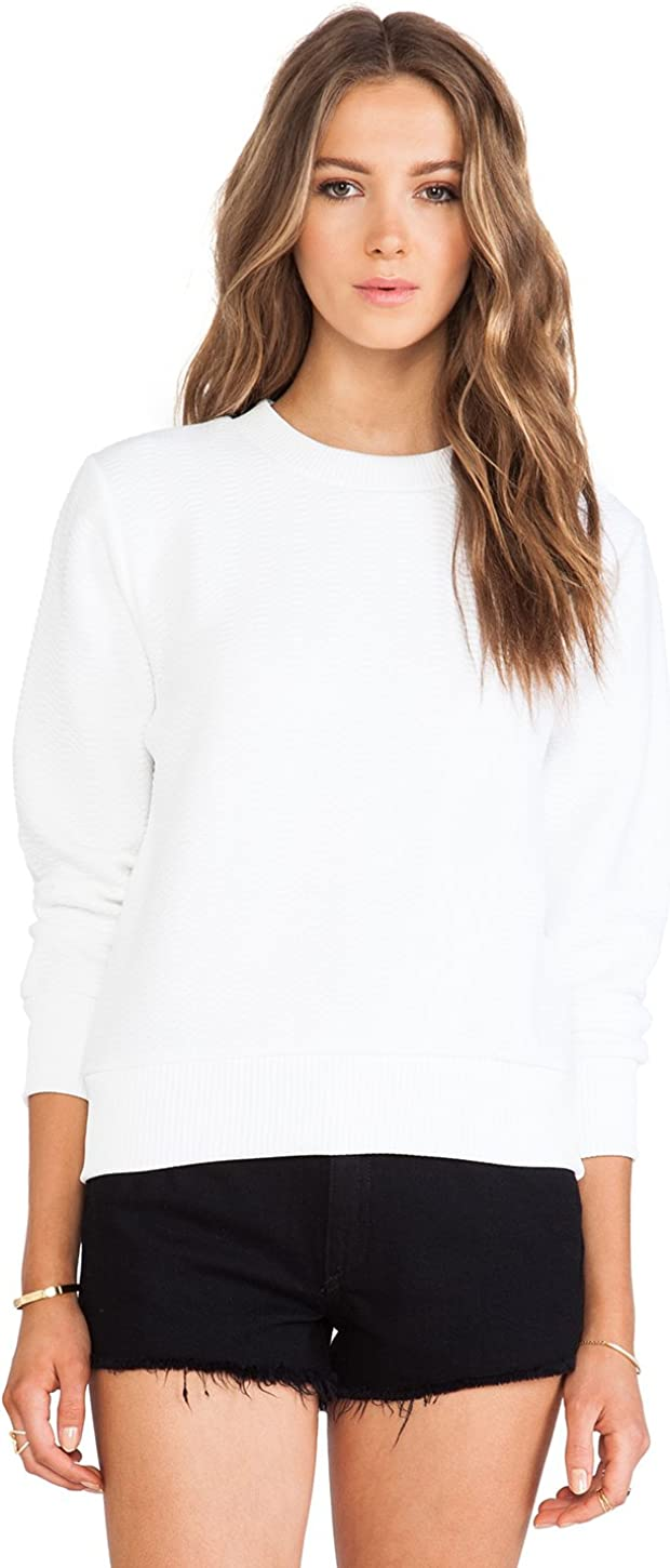 42 Surface to Air Womens Stelly Sweater Paper White
